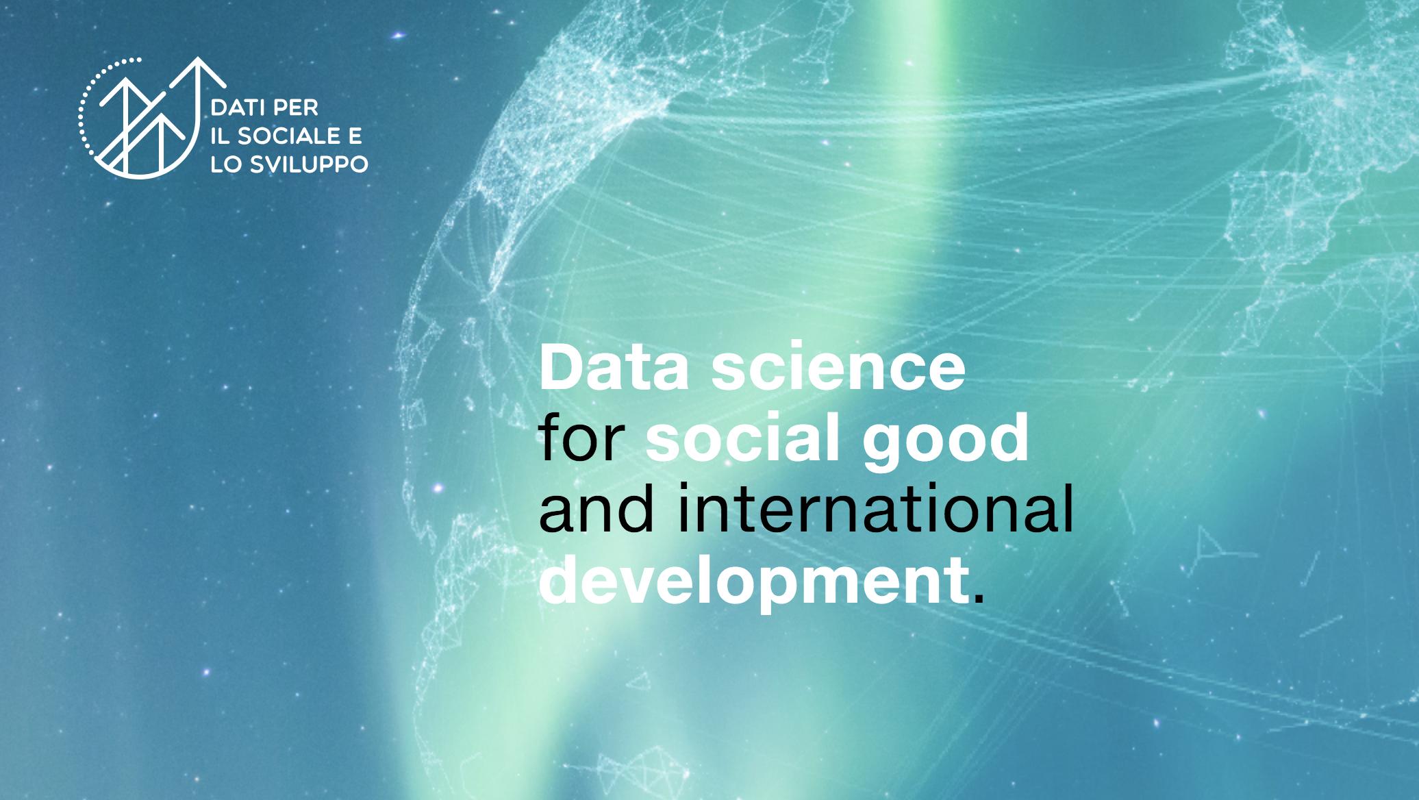 Dati per il sociale e lo sviluppo