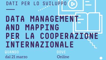 Data management and mapping per la cooperazione