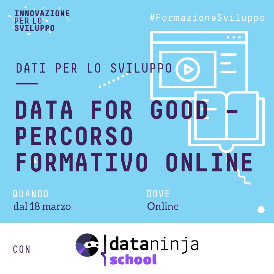 Data for Good – Corso Online