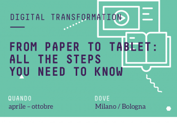 From Paper to Tablet: all the steps you need to know