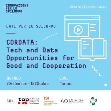 CorDATA: Tech and Data Opportunities for Good and Cooperation