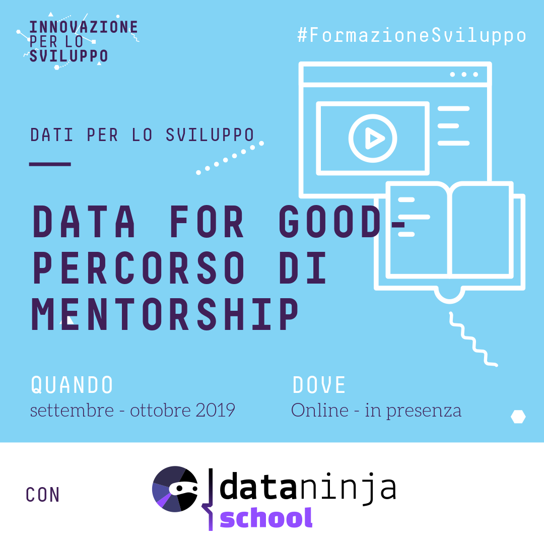 Data for Good – Percorso di Mentorship