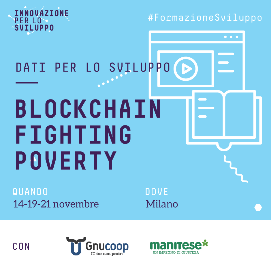 Blockchain fighting poverty