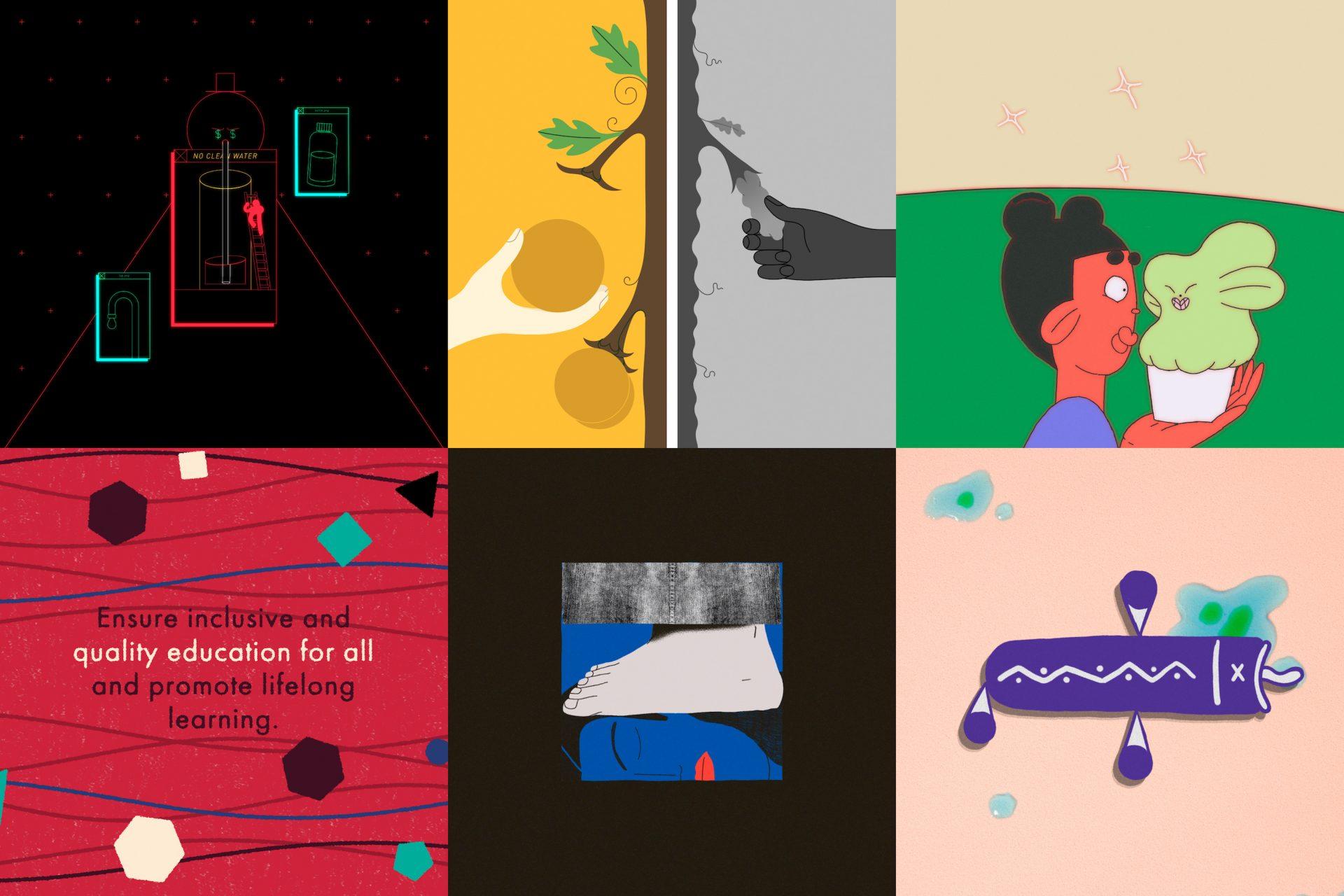 Frames for Future: arte e storytelling per lo sviluppo