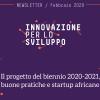 Il programma del biennio 2020-2021 e altre notizie del mese