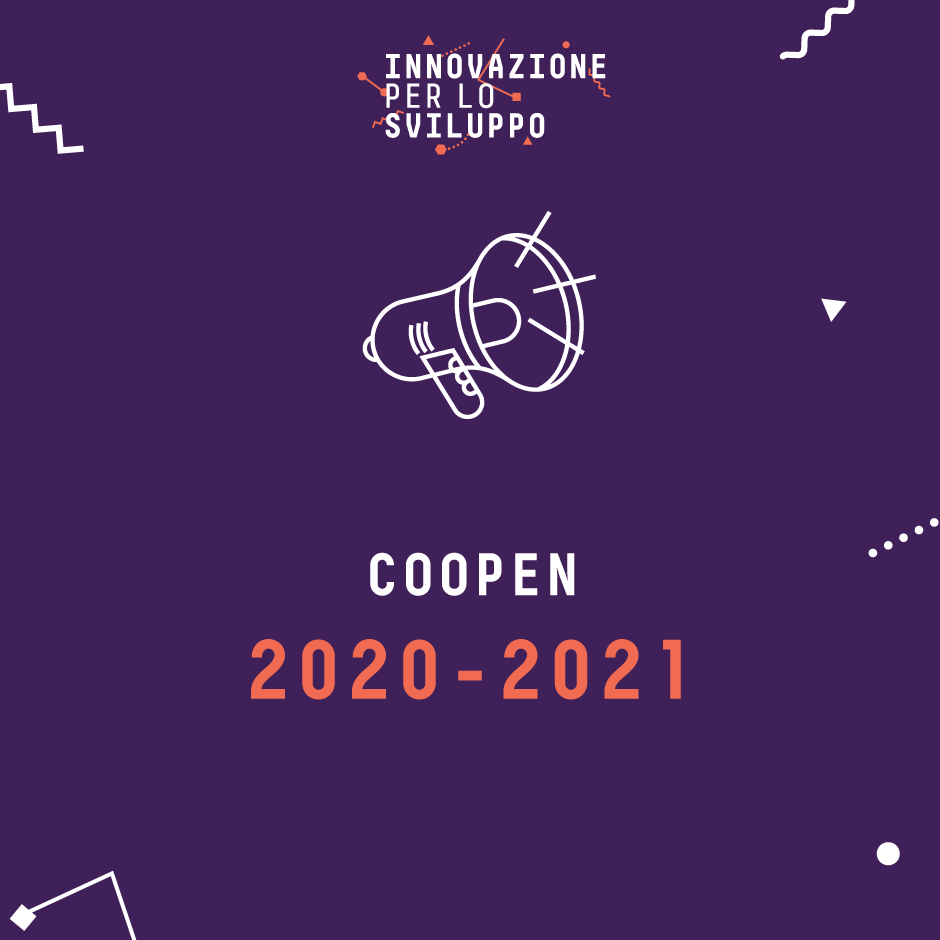 Coopen: Sfide / Open innovation 2020-2021