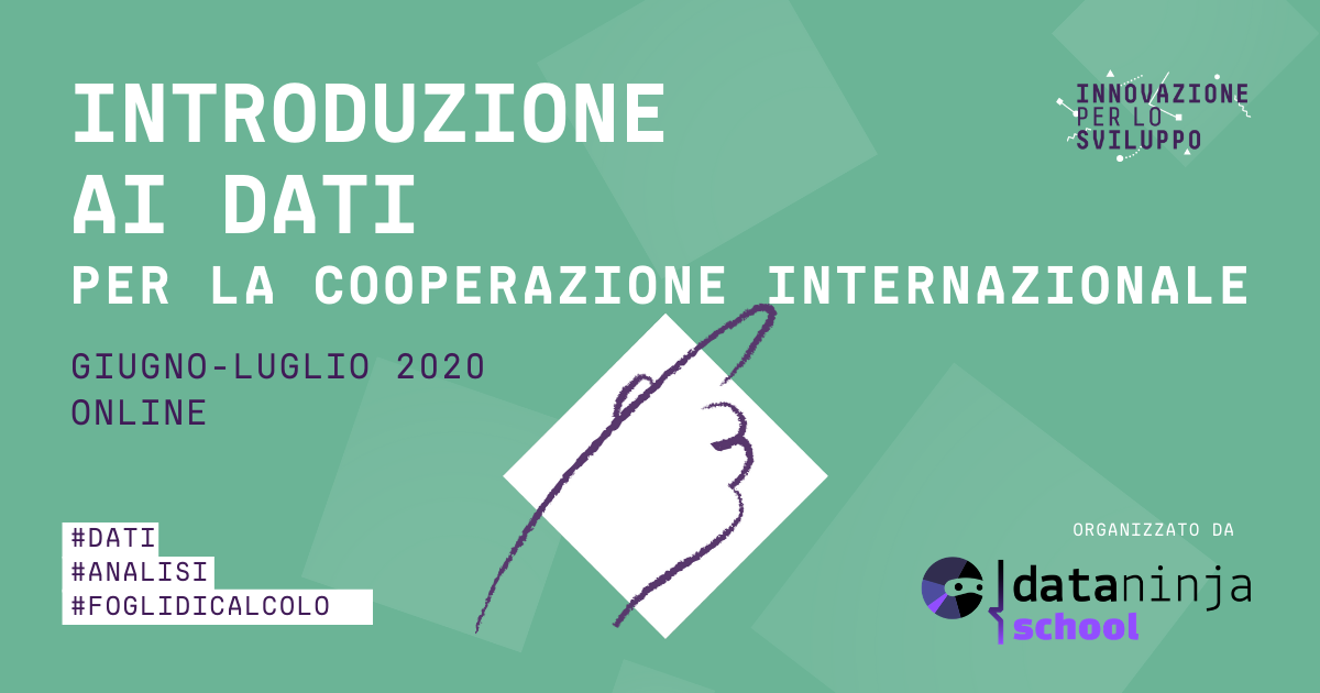 Introduzione ai dati per la cooperazione internazionale