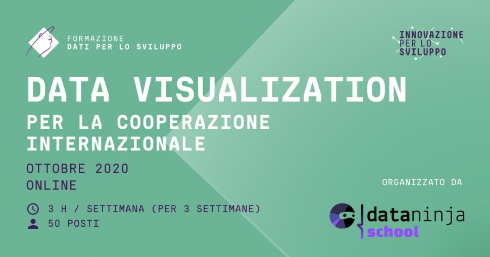 Data Visualization per la cooperazione internazionale
