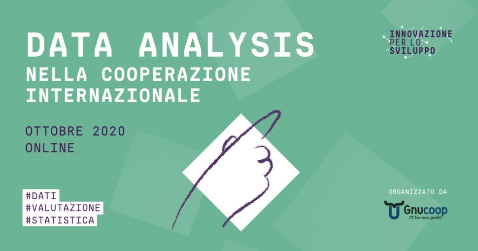 Data analysis nella cooperazione internazionale