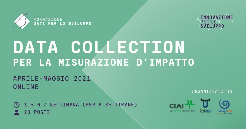 Data Collection per la misurazione di impatto (aprile-maggio 2021)