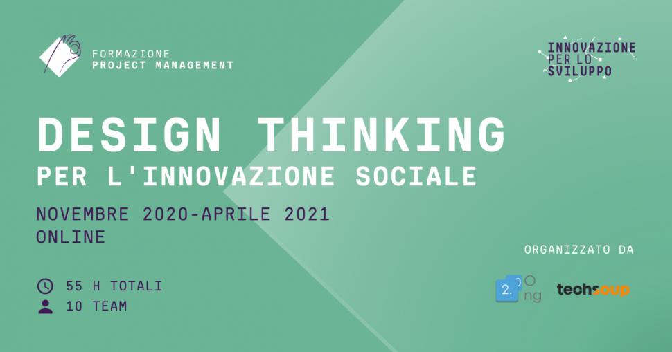 Design Thinking per l'innovazione sociale