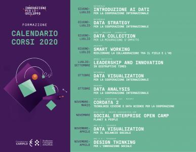 FormazioneSviluppo: calendario corsi 2020