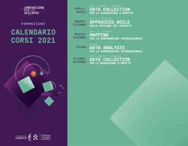 FormazioneSviluppo: calendario corsi 2021