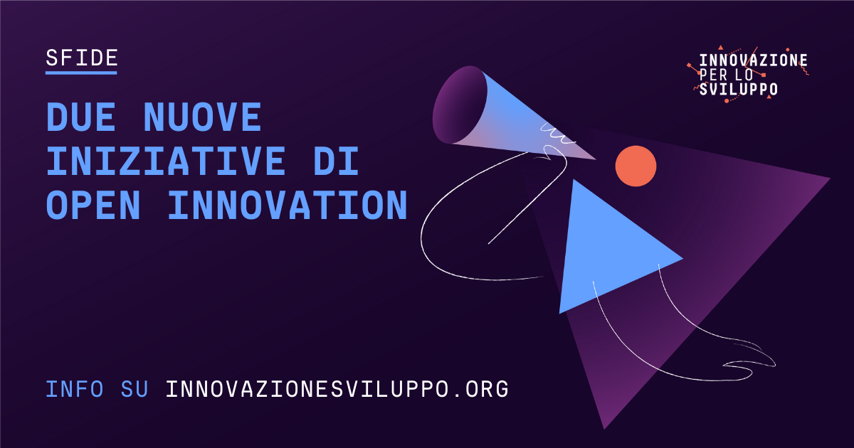 Due nuove opportunità di open innovation