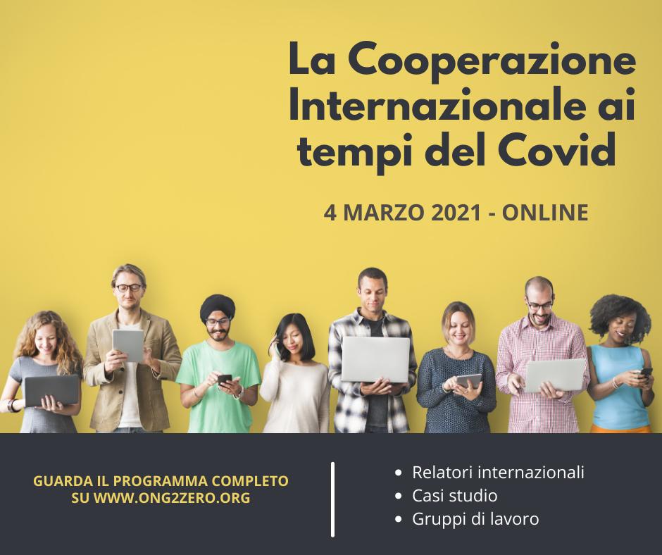 La Cooperazione Internazionale ai tempi del Covid