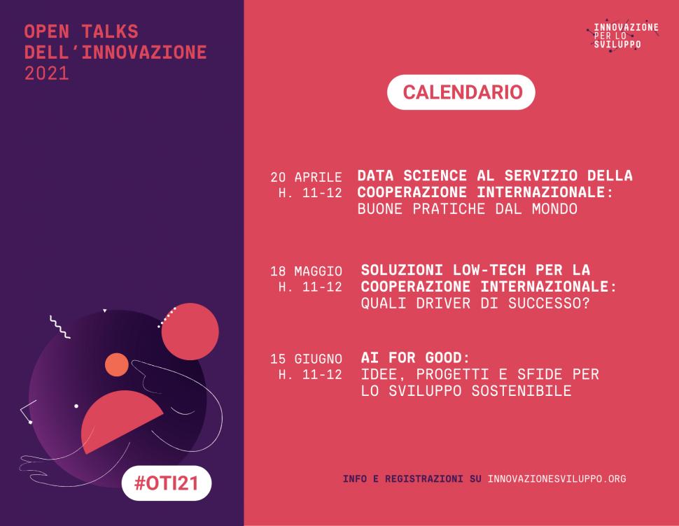 Open Talks dell'Innovazione 2021