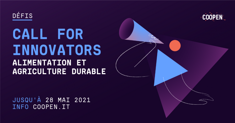 Call for Innovators – Alimentation et Agriculture Durable