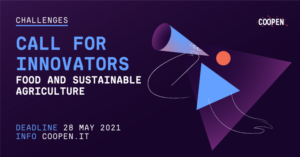 Call for Innovators – Food and Sustainable Agriculture