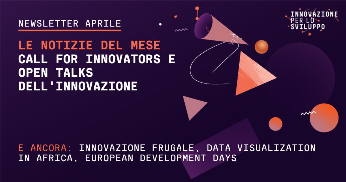 Nuova Call for Innovavators e secondo Open Talks dell'Innovazione