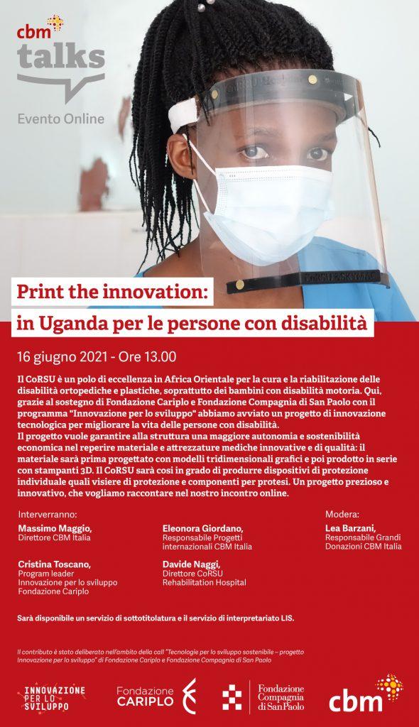 Print the innovation: in Uganda per le persone con disabilità